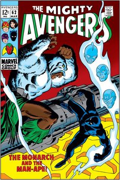 Avengers 62 (1963) Published: March 10, 1969 Added to Marvel Unlimited: April 28, 2007 Writer: Roy Thomas  Penciller: John Buscema  Cover Artist: John Buscema Inker: George Klein Letterer: Artie Simek Editor: Stan Lee Also Appears In Marvel Masterworks: The Avengers Vol. 7 (Hardcover)