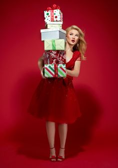 Kelly Clarkson - Wrapped In Red (Christmas Album) Photo shoot ...