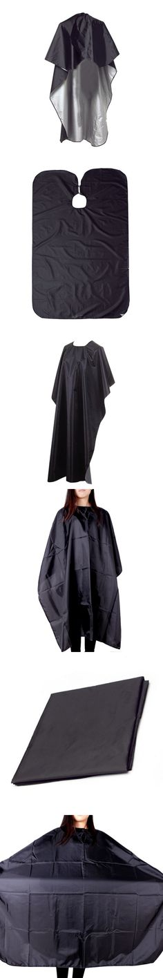 New Pro Makeup Tool Hair Cutting Black Large Size Beauty Salon Adult Waterproof Hairdressing Barbers Hairdresser Gown Cape Wrap