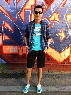 David Chiu's Stuff: Stuff I Wore - Checkered Vans