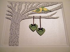 Two hearts 50th wedding anniversary 1st by janeandcompanydesign