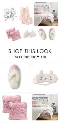 """""""Untitled #361"""" by sakura1987 ❤ liked on Polyvore featuring Lands' End, P.J. Salvage and PBteen"""