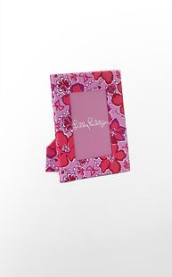 Lilly Pulitzer -picture frame - Sigma Kappa