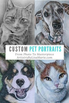 Handmade Fine Art! The perfect gift and memento. Learn more at ArtistryByLisaMarie.com