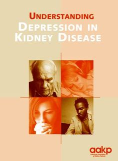 Kidney disease patients are at an increased risk of suffering from depression. Understanding Depression in Kidney Disease gives readers an understanding of what depression is, what may cause it and how it is treated.