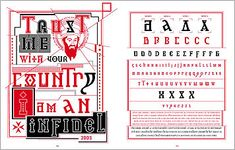 Barnbrook Bible: A Graphic Autobiography: Design Observer Typography Fonts, Typography Design, Jonathan Barnbrook, Design Observer, Research Projects, Visual Communication, Bible, Letters, Postmodernism