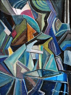 VISION (Serge Brignoni (Swiss, 1903 - 2002)  Abstract...)