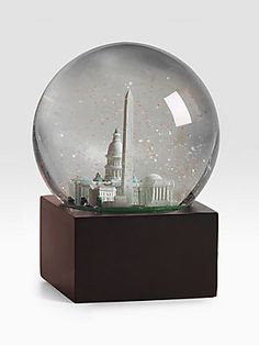 Saks Fifth Avenue Washington, DC Snow Globe - great gift for people that miss the DC area