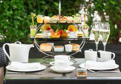 Summer Garden afternoon Tea at Evoluzione in Hotel Xenia