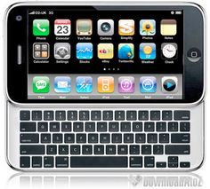 Ah, my dream phone. All the stuff of an iPhone, but with a keyboard!