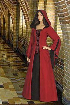 Woodland Peasant - medieval dress renaissance costume