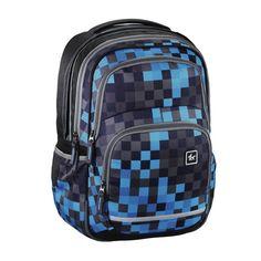 e1d894f0b All Out Blaby školní batoh Blue Pixel   Školní aktovky a batohy  4baby.cz