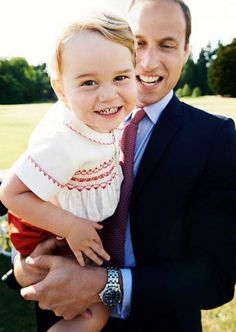 George's smile proves that he's having a pretty amazing Summer so far. Besides turning 2 years old on July 22, he's also been busy with playdates with his mom, Kate Middleton, charming the entire world with his facial expressions, and attending official functions with his family. See the sweet photo above, then check out more adorable photos of George and Charlotte.