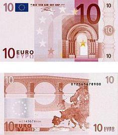 10 Euro Scheine - 10 Euroschein - Zehn Euro Schein