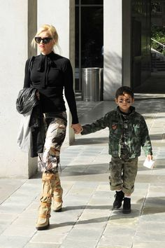 Hollywood's best dressed women pass down their imitable style to their kids.
