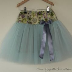 Tulle Skirt Tutorial 100% in French lol (2 - 10 years)
