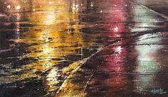 """Lin Jingzhe """"vanishing glory"""" 2014 watercolor 31 × 54cm   by Lin Jingzhe / Lin, Ching-Che"""