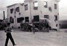 Belchite 1937 - Juan Guzman. Memoria gráfica de España.: Belchite (Zaragoza)