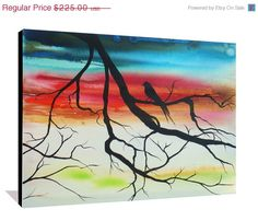 three canvas tree paintings where can i buy this pretty things