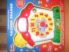 Развивающая. Обучающая игрушка Часики знаний 7007 Joy Toy