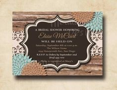 Wedding Rustic Wedding Shower Invitations As With An Elegant Design Of Simple Wedding Invitations Design To Increase Adorable Your Party 5 Rustic Wedding Shower Invitations