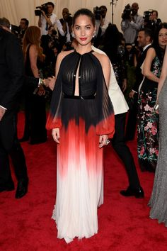 Olivia Munn. See all the looks from the 2015 Met gala.