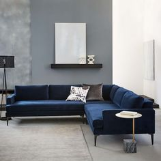 Andes L-Shaped Sectional | west elm