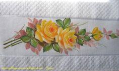 Agulhas e Pinceis: Pintura em tecido