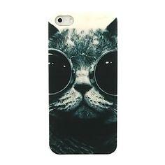 Hard Case ravissante chat Lunettes de modèle pour l'iPhone 4/4S – EUR € 1.83