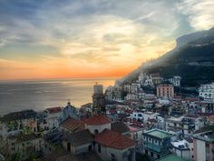 Minori is a a gem off the Amalfi Coast's beaten paths. Admire this November's sunset!
