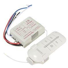 Wireless 2 Channels 220V Lamp Remote Control Switch Transmitter