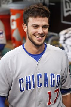Chicago Cubs Baseball, Baseball Boys, Softball, Hot Baseball Players, Cubs Pictures, Cubs Players, Mlb Teams, Sports Teams, Lisa