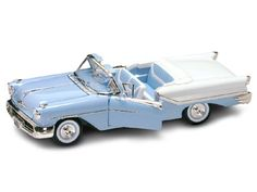 Diecast Cars, 1957 Oldsmobile Super 88 Convertible Diecast made by YatMing