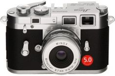 Minox' miniaturized version of the Leica M3 classic camera
