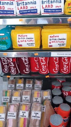 The Cornershop art installation by Lucy Sparrow. She created an entire shop out…