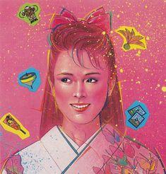 Tomoharu Ikawa (1984) #80s #art #retro