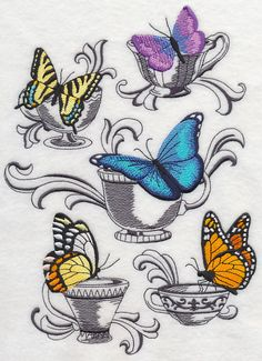 Machine Embroidery Designs at Embroidery Library! - Color Change - K1861