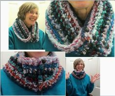 The New #Crochet Cowl Scarves: The Cowl for Skerin Four Ways