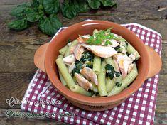 Pasta salmone e Spinaci