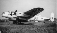 Avro Lancaster ASR (Air Sea Rescue) Mk 3 of No 203 Squadron, RAF Ballykelly Northern Ireland (Note Aerial Lifeboat mounted in the 'bomb bay')