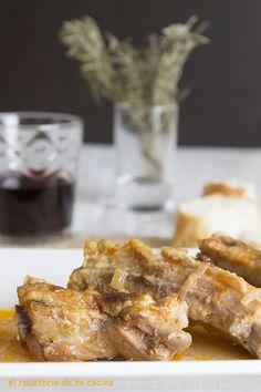 Costilla de cerdo al romero | El recetario de mi cocina
