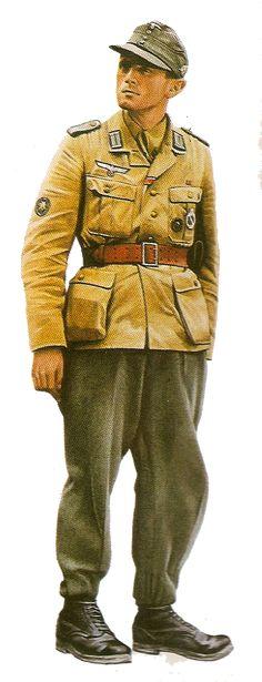Gebirgsjager medic Italy 1944,