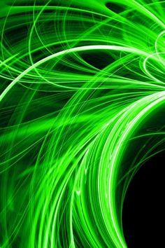 green swirls Green Landscape, Go Green, Shades Of Green, Swirls, Color Splash, 3 D, Neon Signs, Corporate Identity, Colors
