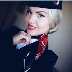 New gorgeous Angel flight attendant #1684 @shoopchik #flightattendant…
