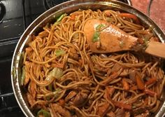 Indian Food Recipes, Ethnic Recipes, Wok, Japchae, Cocktail Recipes, Food Videos, Food And Drink, Cooking Recipes