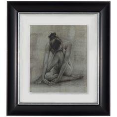 Bassett Mirror Hollywood Glam Classic Figure Study II 9900-280BEC