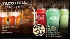 Taco Bell Just Got Better! They Will Now Sell Beer!!!!!!!