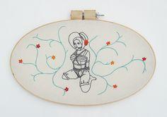 Colleen McCarten - Feminist Embroidery!
