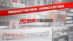 BSN Amino X Review by Genesis.com.au. Genesis Nutrition Australia. Shop online 24/7 with the Lowest Prices! Australian owned and Operated Shipping Nationwide Daily.