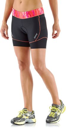 Race With the Best — Women's Zoot Performance Tri Shorts. #REIswimbikerun